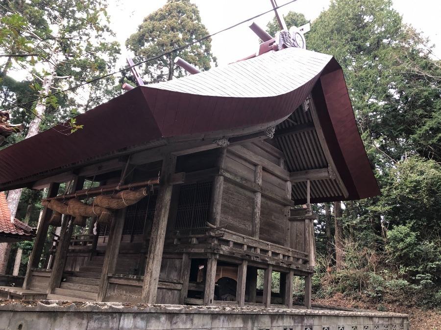 天健金草神社(都万)